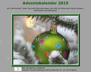 Öffnen Sie jeden Tag ein Türchen beim Quasar Adventskalender